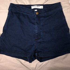 American Apparel High Waisted Disco Shorts